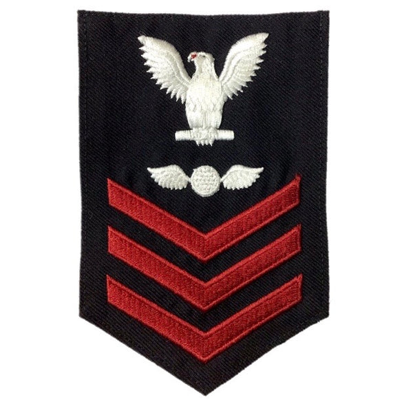 NAVY Men's E4-E6 (AE) Rating Badge: Aviation Electricians Mate- SDB