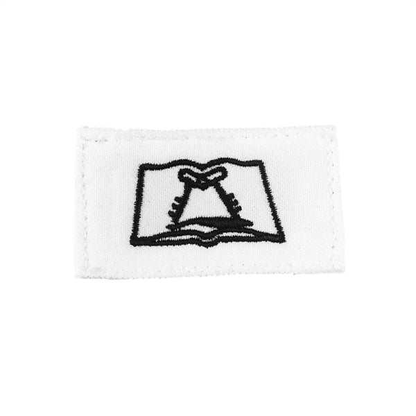 NAVY (CS) Striker Mark Rating Badge: Culinary Specialist - White
