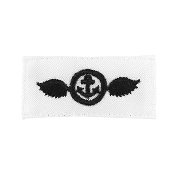 NAVY Striker Mark Rating Badge: Airman - White