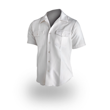 NAVY Men's Officer/CPO Summer White Shirt