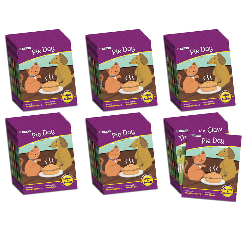 Letters and Sounds Phase 5 Set 2 Fiction - 6 Pack