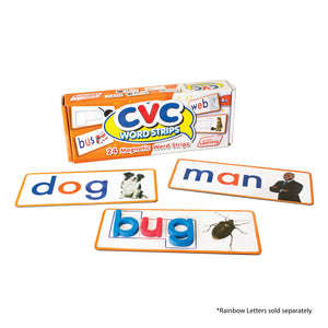 CVC Word Strips