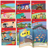 Decodable Readers Phase 6 - Spelling Fiction (6-Pack)