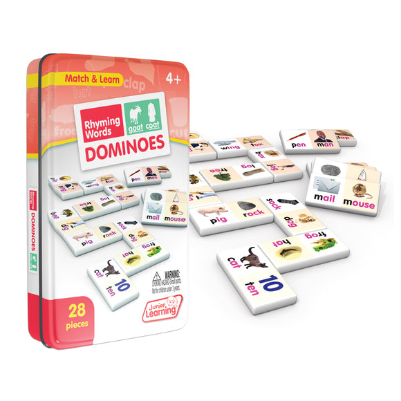 Rhyming Word Dominoes