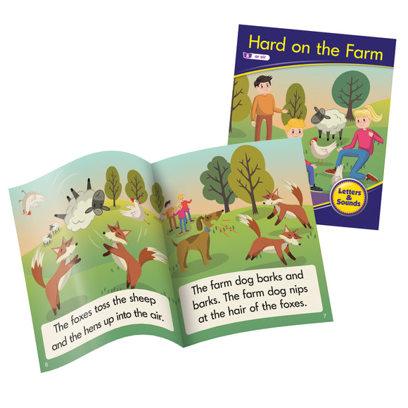 Decodable Readers Phase 3 (Set 2) - Phonics Fiction (Set of 6)