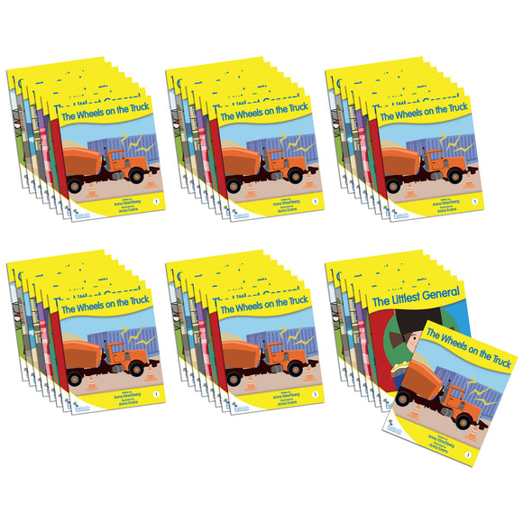 Fantail Readers Level 4 - Yellow Fiction (Set of 6)