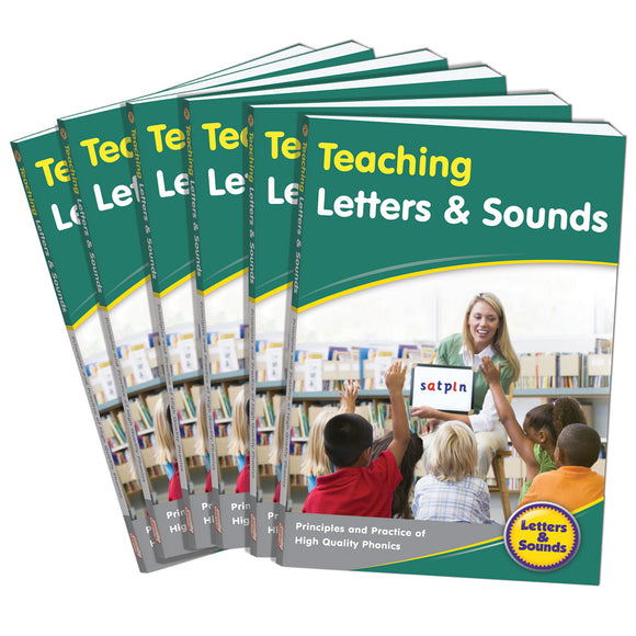 Teaching Letters & Sounds (6-Pack)