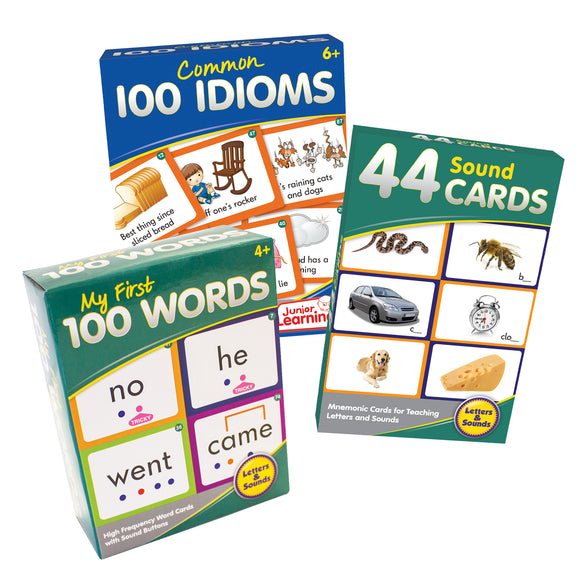Learn at Home Small Literacy Kit