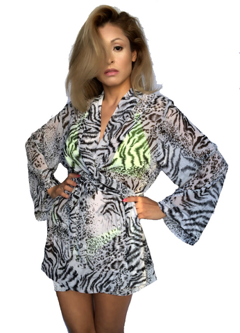 wendolin-designs - Wendolin Designs -  - Animal print cover up