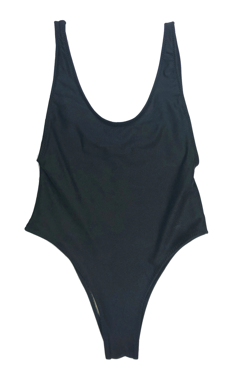 wendolin-designs - Wendolin Designs - Swimsuit - One Piece Swimsuit Color Black