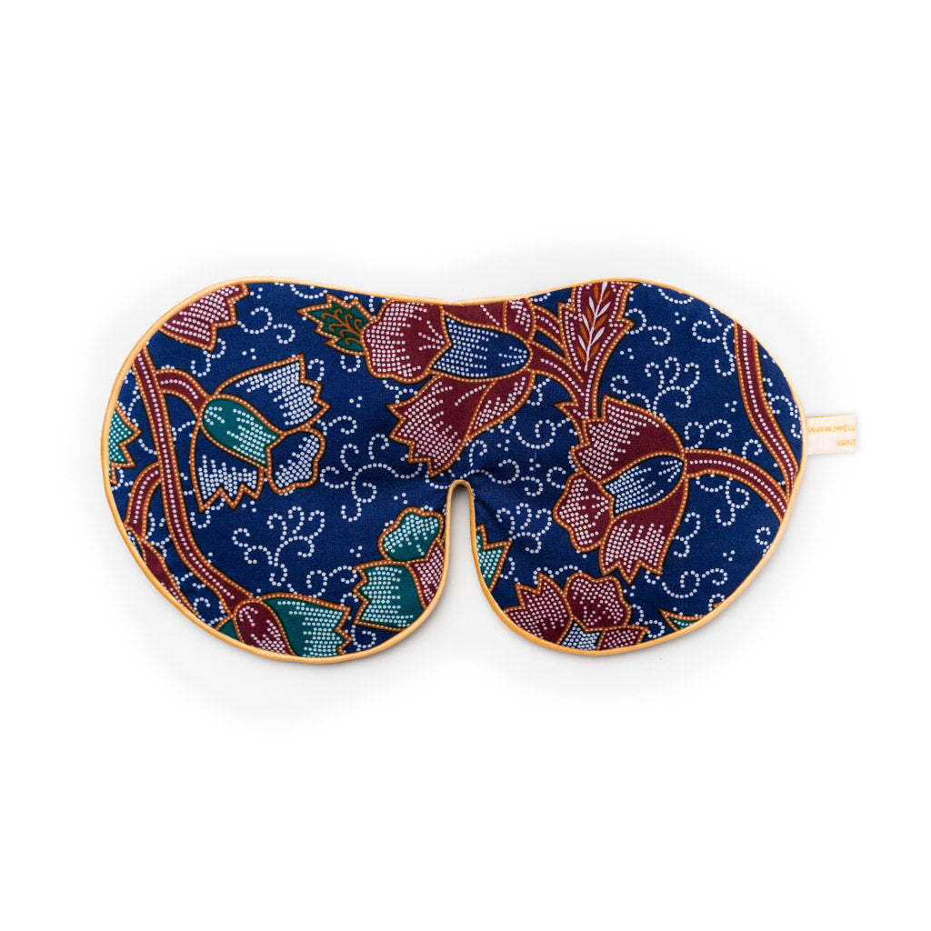 Batik Songket Lavender Eye Mask → (more colours)