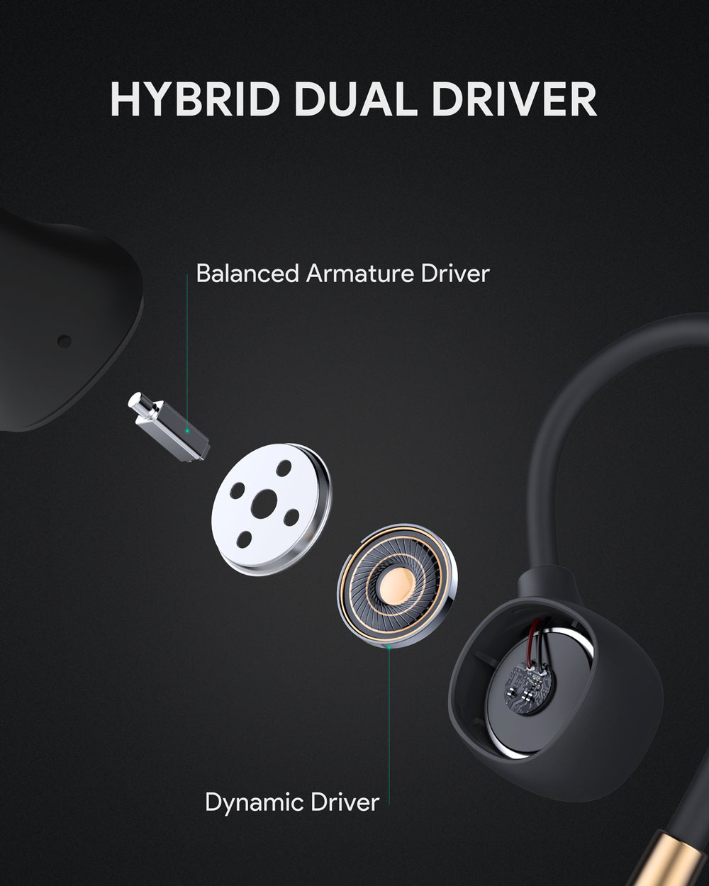 Key Series B80  Hi-Fi True Sound Earbuds