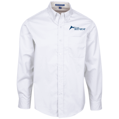 S608 Port Authority Men's LS Dress Shirt