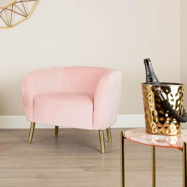 Pink Cocktail Chair