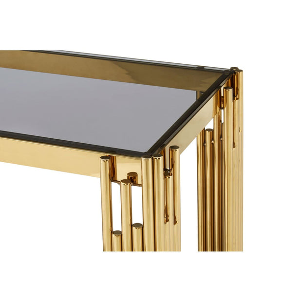 Metallic Console Table