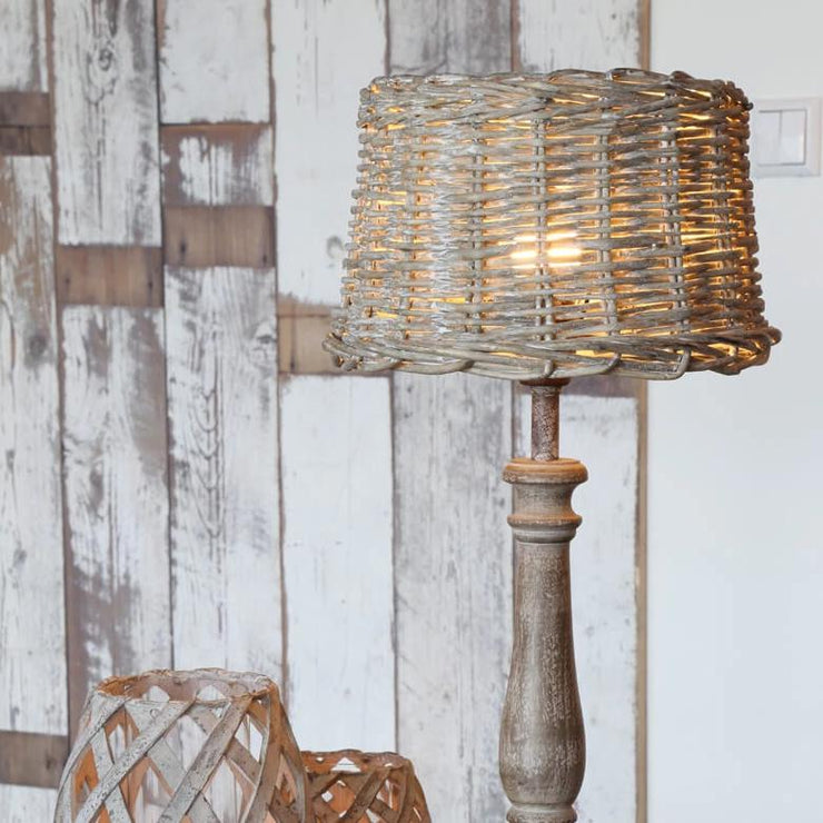 Wicker Lampshade