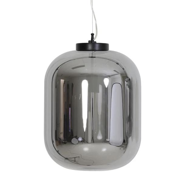 Large oval pod shaped glass ceiling lights