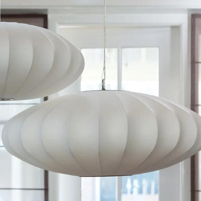 White Pendant Light