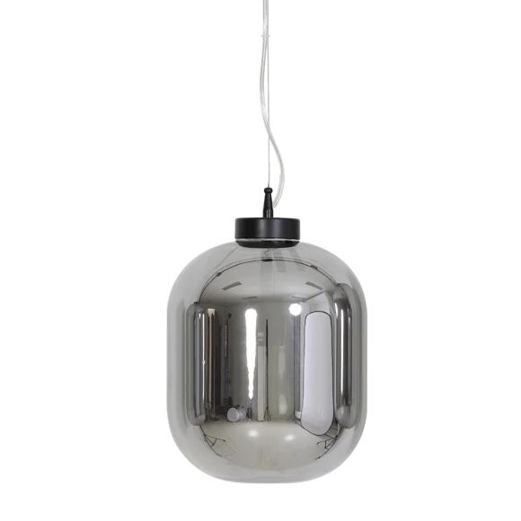 Medium oval pod shaped glass ceiling lights