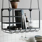 Medium black hanging storage unit