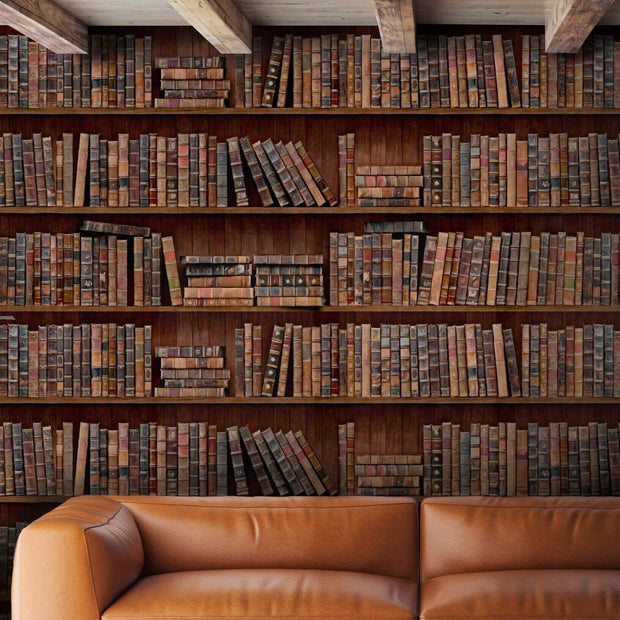 Bookcase Wallpaper