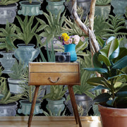Potted Plants Wallpaper
