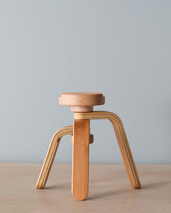 Father's Factory Wooden Tripod