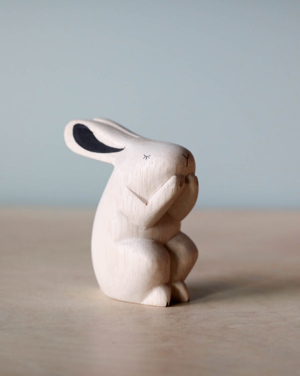 Hand-Carved Rabbit