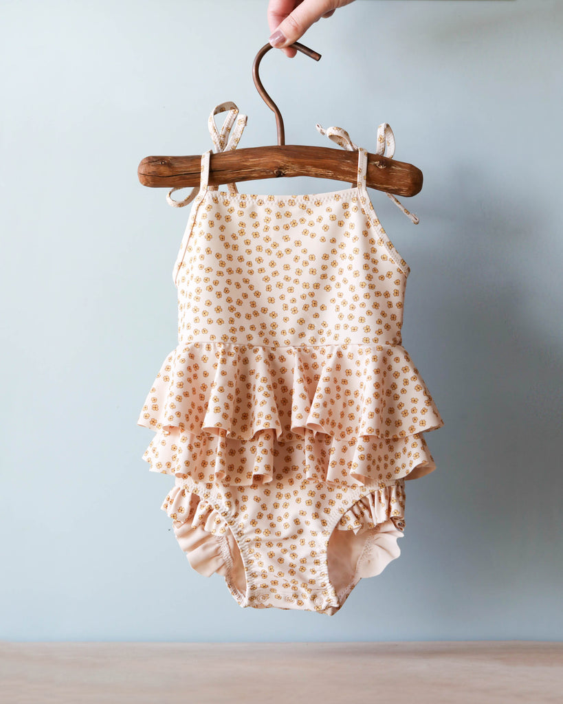 Buttercup Frill Swimsuit