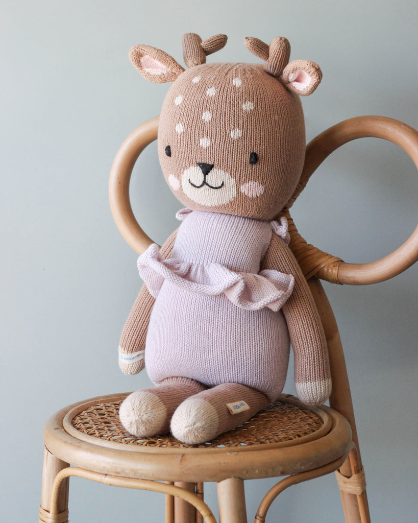 Handmade Violet the Fawn - Large