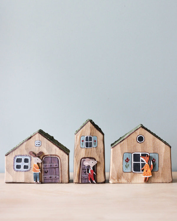 Handmade Wooden Forest Homes