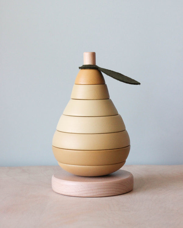 Wooden Pear Toy