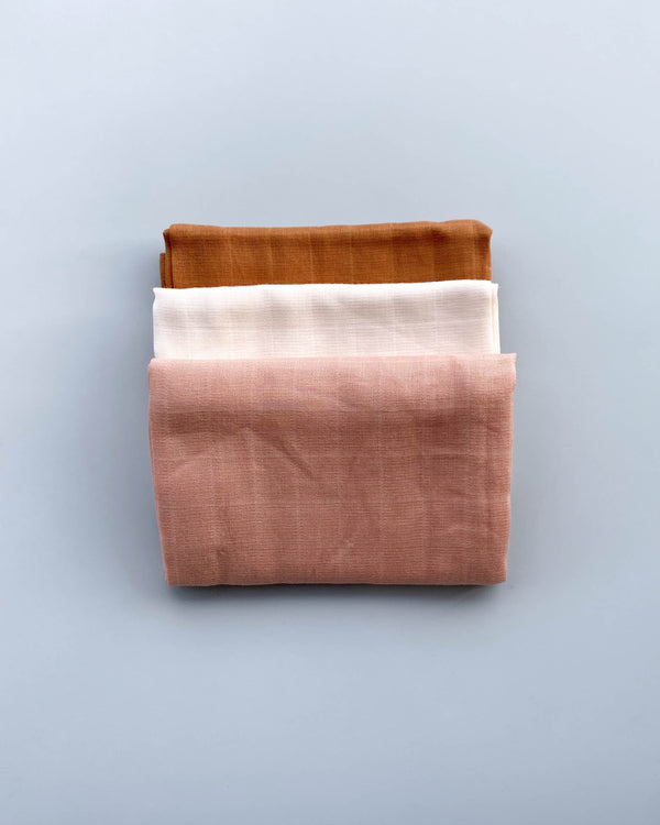 Organic Muslin Cloth (3-Pack)