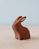 Handmade Wooden Bunnies (Set of Two)