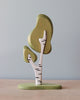 Handmade Three-Piece Birch Tree with Base