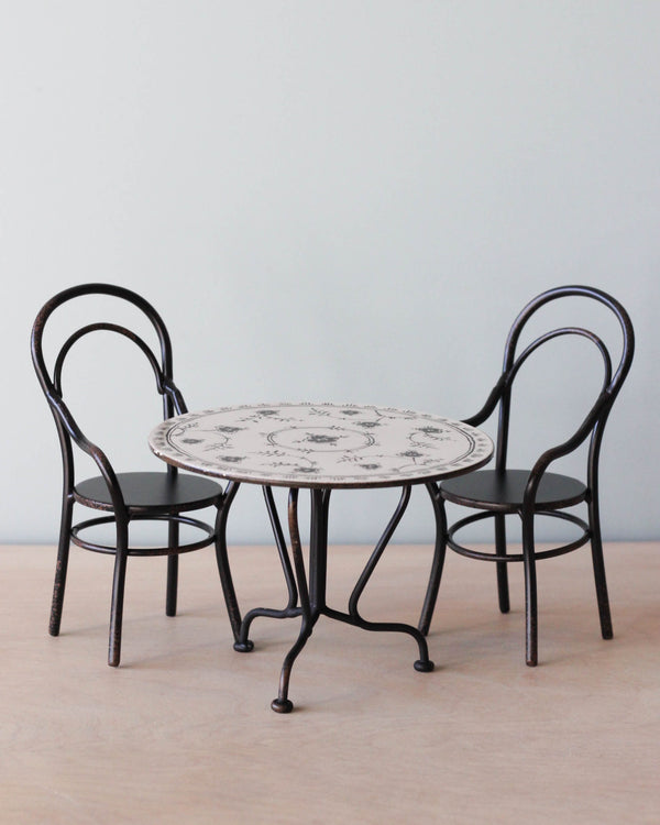 Maileg Bistro Table With Chairs