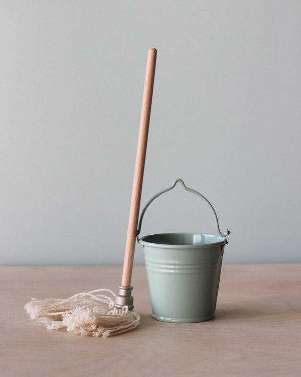 Maileg Miniature Mop & Bucket