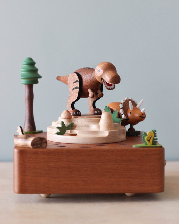 Dinosaur Music Box