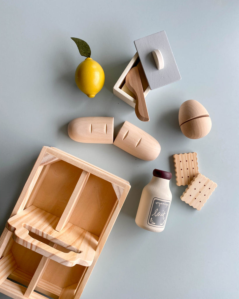 Wooden Picnic Crate