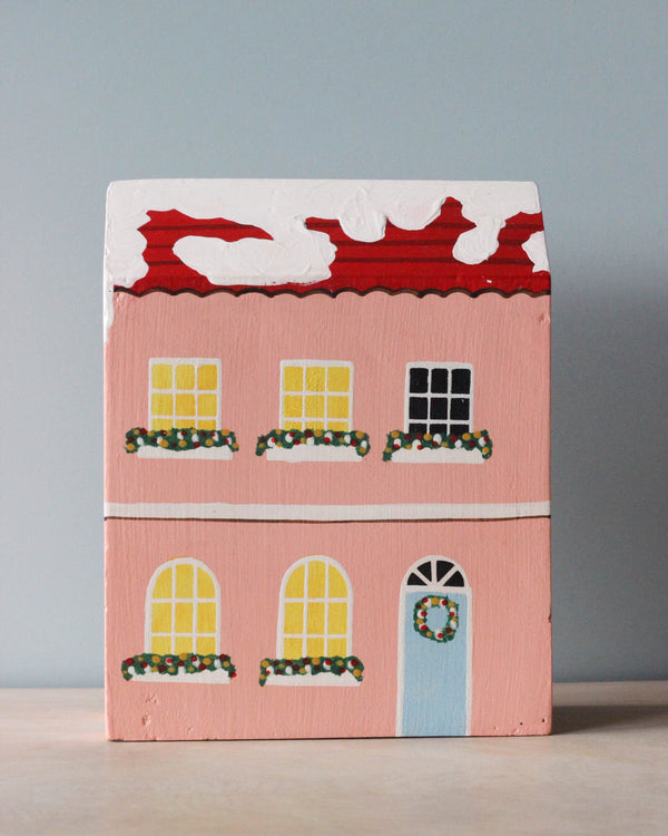 Handmade Wooden Christmas Building