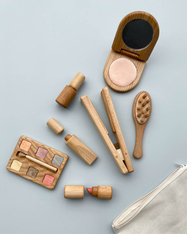 Handmade Wooden Makeup Set