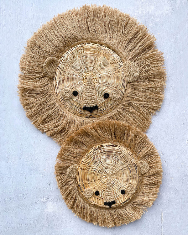 Handmade Lion Wall Hanging