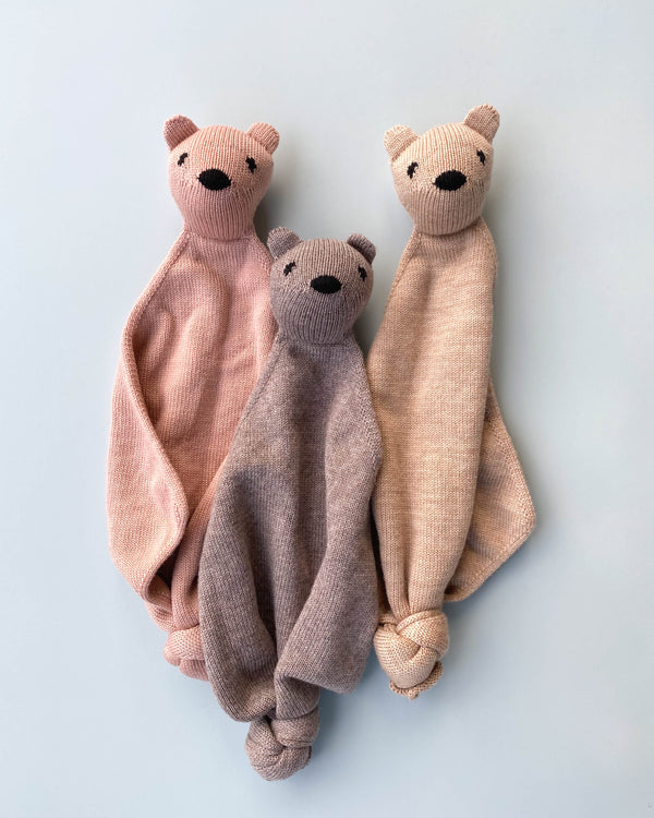"Handmade Merino Wool Teddy Lovey <br/> <font size=""2.7"">Gives 4 meals</font>"