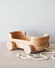 Handmade Wooden Wagon Pull Toy