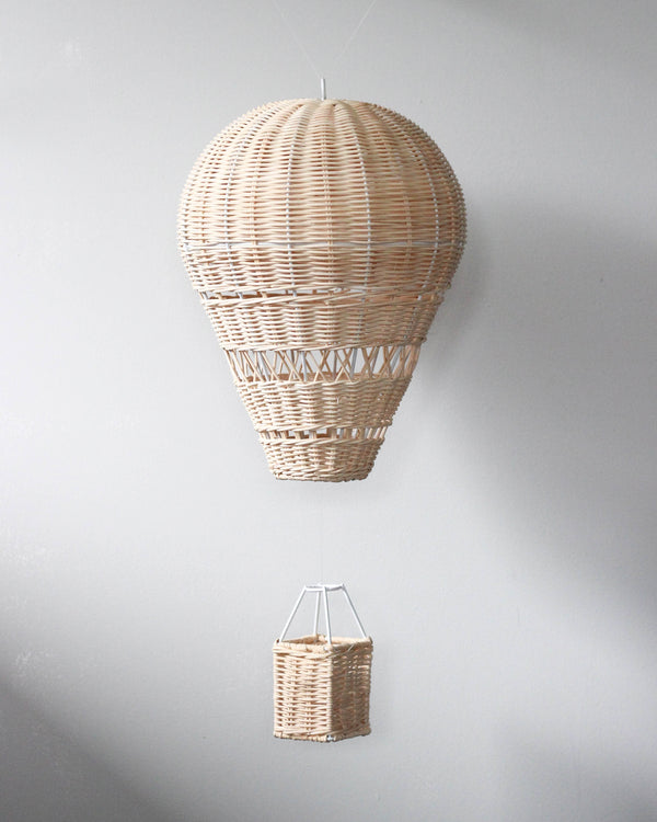 Rattan Hot Air Balloon