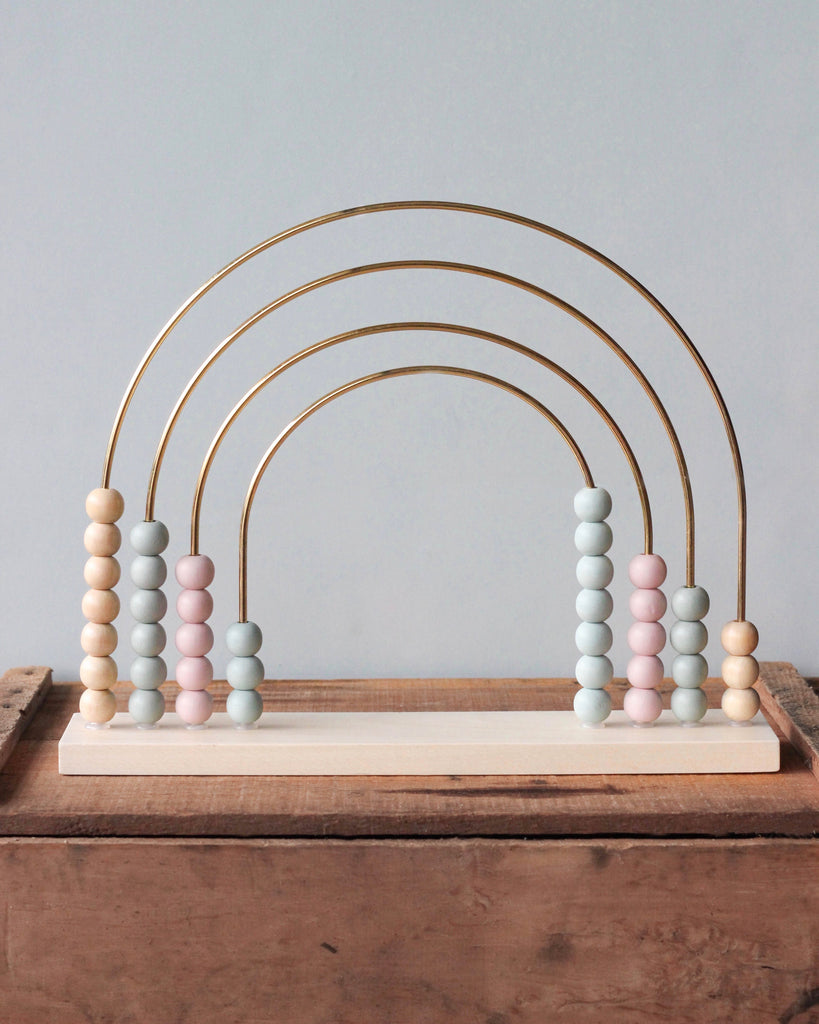 Large Painted Abacus Rainbow