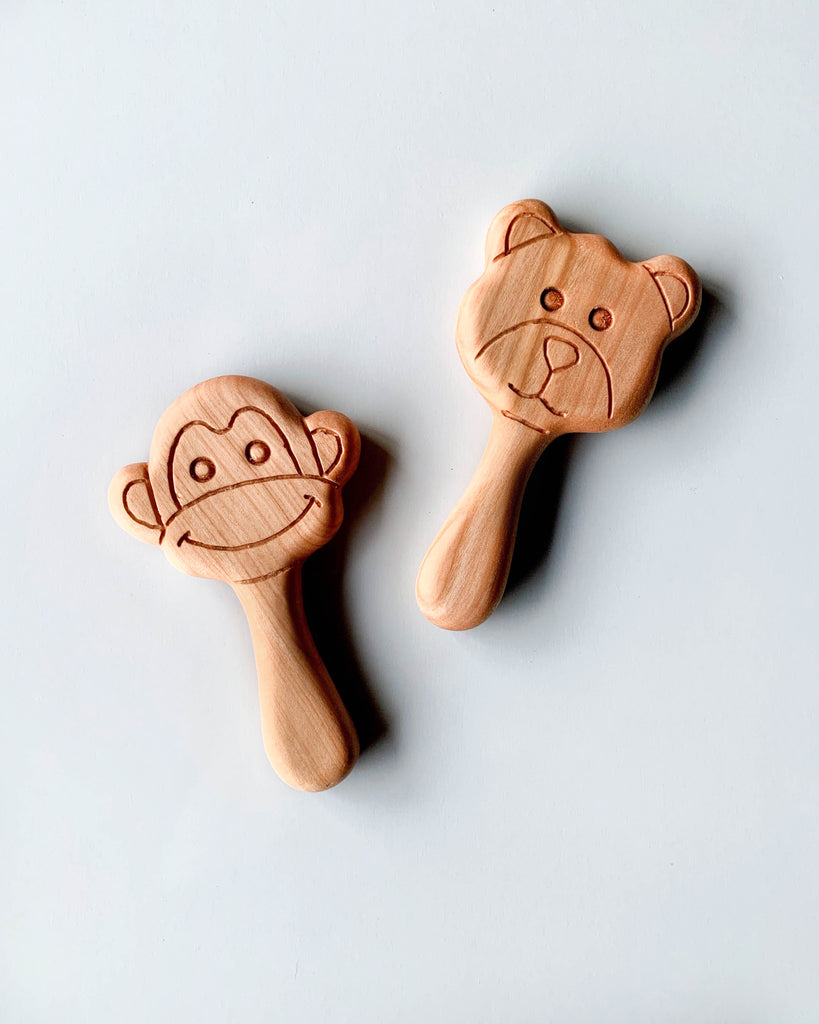 Handmade Wooden Teether
