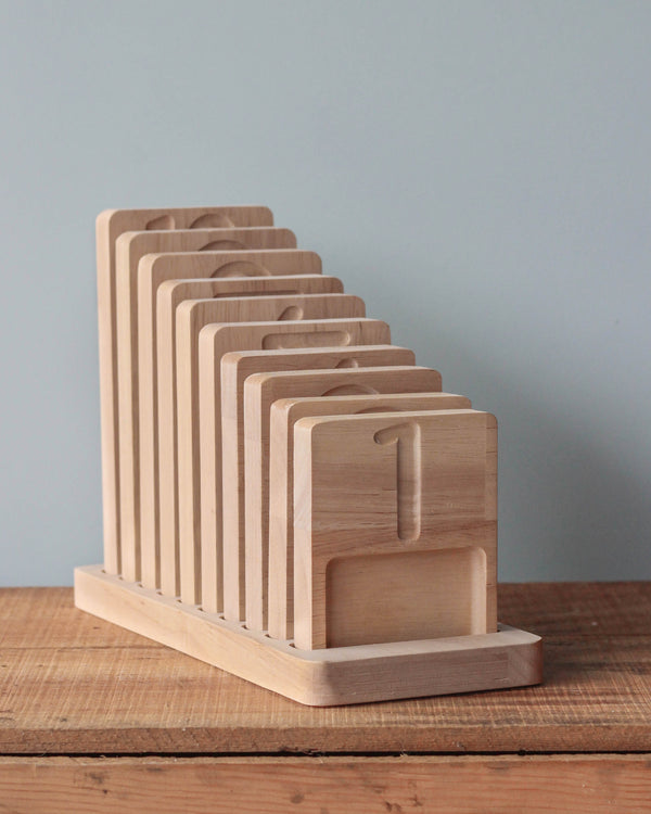 Wooden Counting Trays (ships in approximately one week)