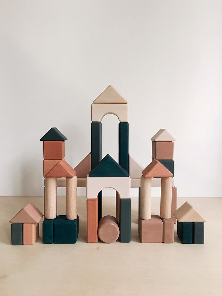 Handmade Wooden Building Blocks