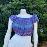 Butterfly Crop Top - Wisteria